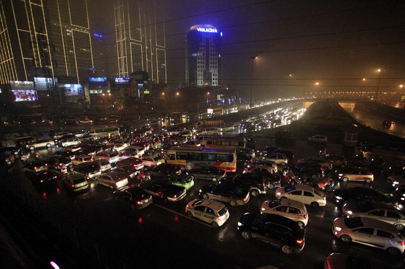 giao thông, ùn tắc, kéo dài, Hà Nội,