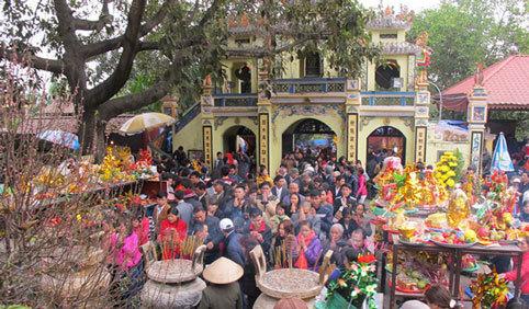 lễ hội, mùa xuân, Chùa Hương, Hội Lim, bà Chúa Kho, đền Trần, xin ấn