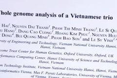 Việt Nam nghiên cứu thành công hệ gen ba cá thể trong gia đình