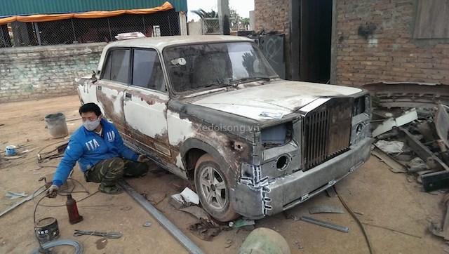 Rolls-Royce, hình ảnh, Lada độ, Bắc Giang