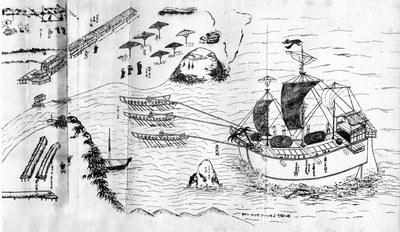 Thương-cảng, Kinh-đô, phú-quốc, giao-dịch, đường-biển, Thanh-Hà, Huế, nhập-lậu