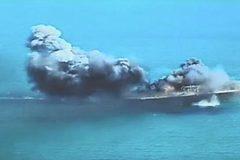Xem Iran bắn phá mô hình tàu sân bay Mỹ