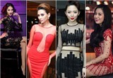 """Sao Việt vẫn say sưa với """"cuộc đua"""" váy xuyên thấu"""