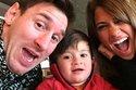 Messi mừng sinh nhật bồ trước tin đồn bầu bì