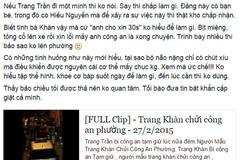 Nhân chứng kể lại lý do Trang Trần bị công an bắt