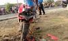Tay lái mô tô tử nạn khi bảo vệ đoàn đua ở Đồng Nai