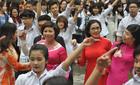 Thầy trò Trường Việt - Đức sôi động trong ngày hội trường