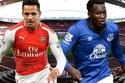 Arsenal 1-0 Everton: Giroud khai thông bế tắc (H2)