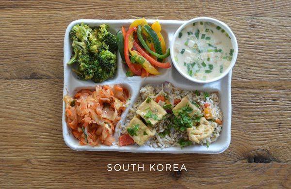 ăn trưa, học sinh, Mỹ, trẻ em, dinh dưỡng