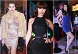 Những chiếc váy bó khiến người đẹp Việt mất điểm