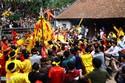 Cướp lộc hội đền Gióng là 'cướp có văn hóa'