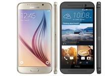 9 điểm vượt trội của Galaxy S6 so với HTC One M9px