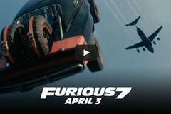 Loạt siêu xe 'Fast & Furious 7' đọ tốc độ giữa không trung