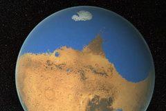 Phát hiện bằng chứng về biển khổng lồ trên sao Hỏa