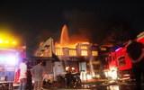 Hàng trăm cảnh sát dập đám cháy lớn ở Cty VietNam Samho