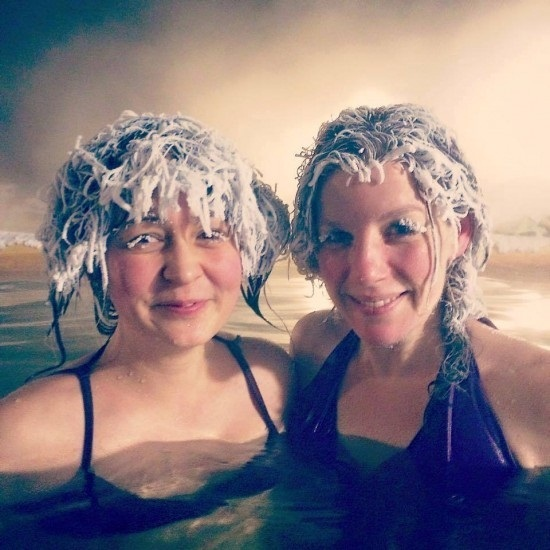 Cận cảnh cuộc thi 'đóng băng tóc'