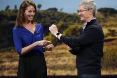 Cổ phiếu Apple bất ngờ giảm sau khi ra mắt Apple Watch
