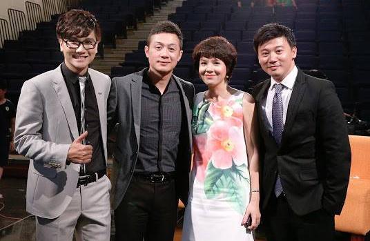 Công Tố, Diễm Quỳnh, Anh Tuấn, Chí Trung, Kim Oanh, Quang Thắng