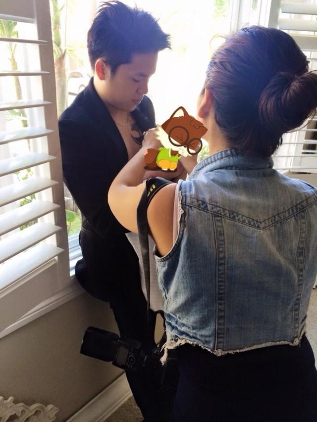 Hoa hậu Diễm Hương cãi nhau với chồng