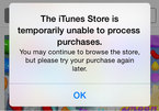 "App Store, iTunes tê liệt hơn 12 giờ do ""lỗi kỹ thuật"""