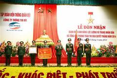 Đơn vị thông tin M1 của Viettel nhận danh hiệu Anh hùng
