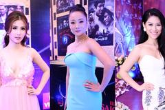 Diễm My 9x, Ngô Thanh vân cùng khoe vai thon