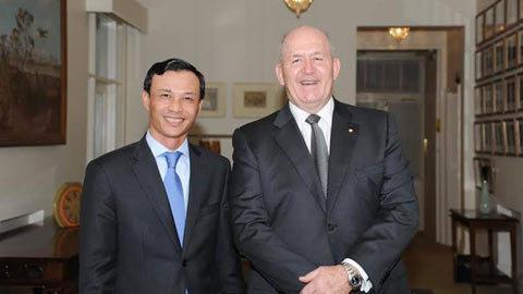 Australia, đại sứ, Lương Thanh Nghị, TPP, Biển Đông
