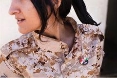 """Những """"bóng hồng"""" trên mặt trận chống IS"""