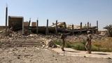 Lăng mộ nguy nga của Saddam Hussein bị san phẳng