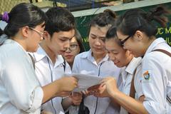 Công bố danh sách 38 cụm thi THPT quốc gia