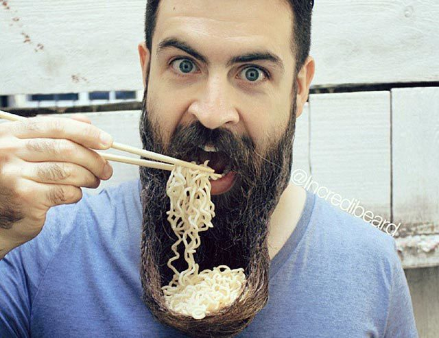 Bộ râu - ổ vi khuẩn trên mặt đàn ông