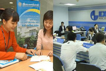 Dính vào Sacombank: Eximbank tuột dốc?