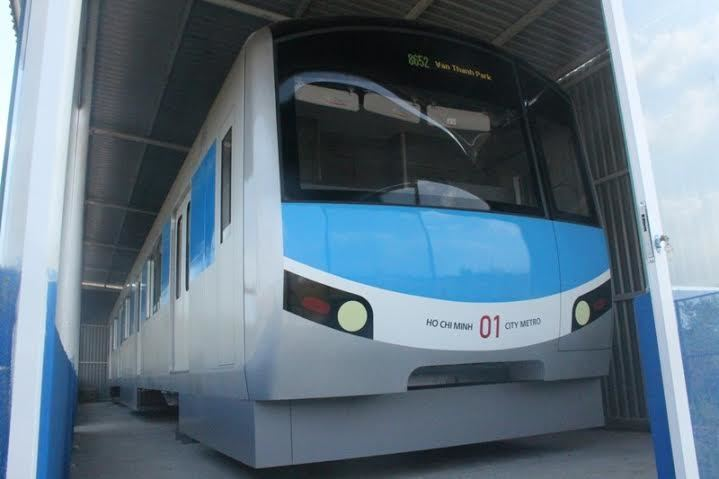 Mở cửa tham quan, góp ý tuyến Metro số 1 ở Sài Gòn