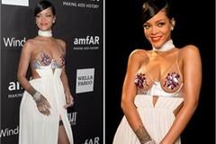 Những bộ cánh thảm đỏ gây sốc của Rihanna