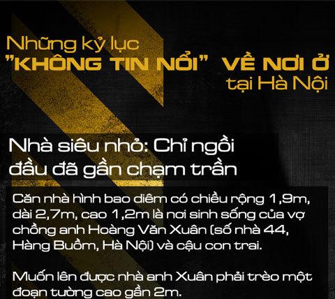 Phố cổ: Những kỷ lục phát ớn ở Hà Nội