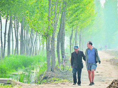 Hai người khuyết tật trồng 10.000 cây xanh