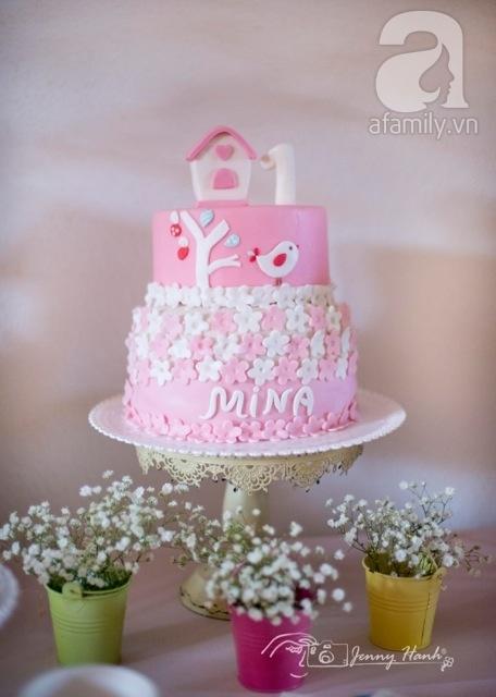 JennyHanh, tiệc sinh nhật, thôi nôi