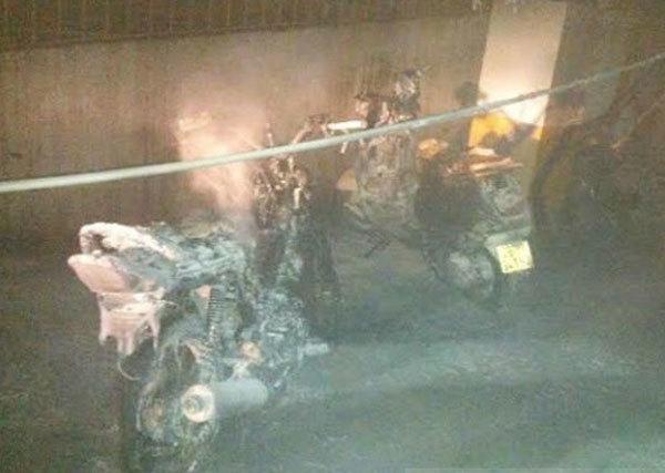 Cháy ôtô, nổ biến áp... rập rình cái chết dưới tầng hầm