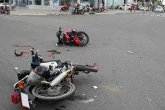 Điều khiển xe máy gây tai nạn khi chưa có bằng lái