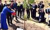 Thủ tướng trồng cây tại Australia