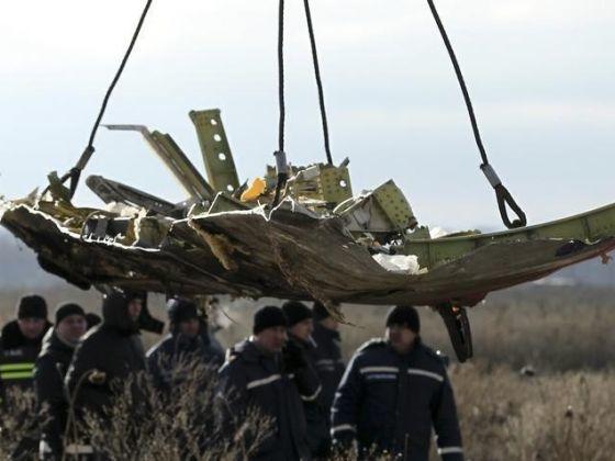 Vụ MH17: Tìm thấy mảnh đạn khớp tên lửa BUK