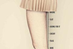 Không nên đo phụ nữ bằng chiều cao của váy