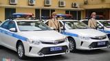 Công an Hà Nội tiếp nhận 44 ôtô tuần tra công nghệ mới