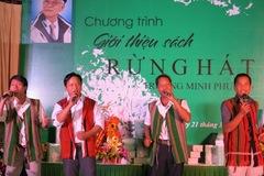 """""""Rừng hát"""" – tuyển tập đồ sộ của cố nhạc sĩ Minh Phương"""