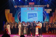 CMC Telecom tiếp tục vào top Thương hiệu mạnh VN