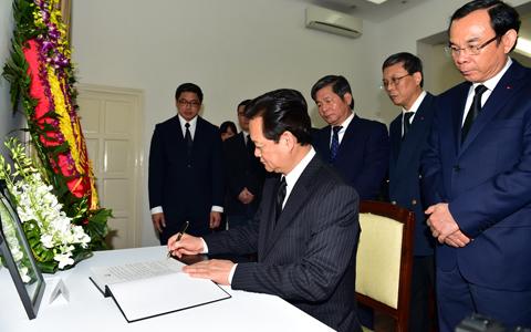 VN ghi nhớ sự giúp đỡ của ông Lý Quang Diệu