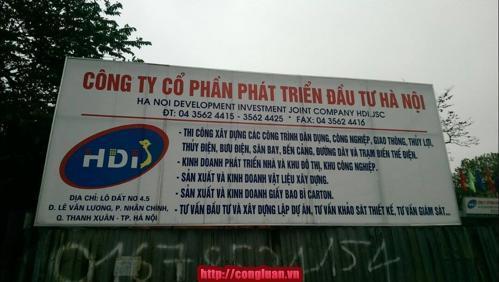 Quận Thanh Xuân, Thu hồi đất, thiếu minh bạch, khiếu kiện