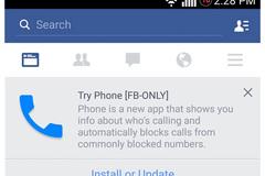 Facebook thử nghiệm ứng dụng gọi điện cho Android