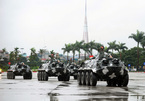 Dàn xe đặc chủng ra quân bảo vệ an ninh IPU 132