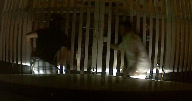 Camera hành trình ghi cảnh vị PGĐ bị chém dã man